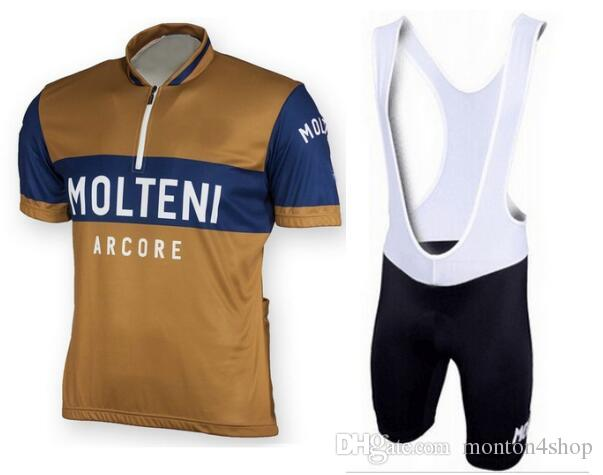 ce6f1ce2f9479 MOLTENI ARCORE RETRO Mens Ropa Ciclismo Cycling Clothing MTB Bike Clothing   Bicycle Clothes 2018 Cycling Uniform Cycling Jerseys 2XS 6XL P5 Cycling  Clothes ...