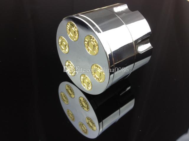 Neue Design Kugelform Kräuterkraut Tabakschleifer Materal Rauchschleifer Hand Muller Magnetisch