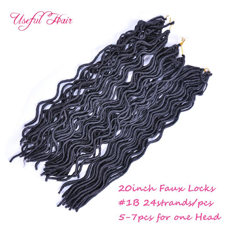 goddess deep wave blonde hair extensions 20INCH SOFT DREADLOCKS WAVING CURLY GODDESS LOCkS CROCHET BRAIDS hair synthetic braiding hair