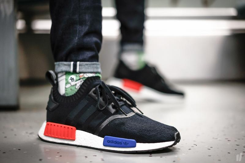 new style af003 e4c2c new arrivals adidas nmd runner mens white black 6eee8 ff81f