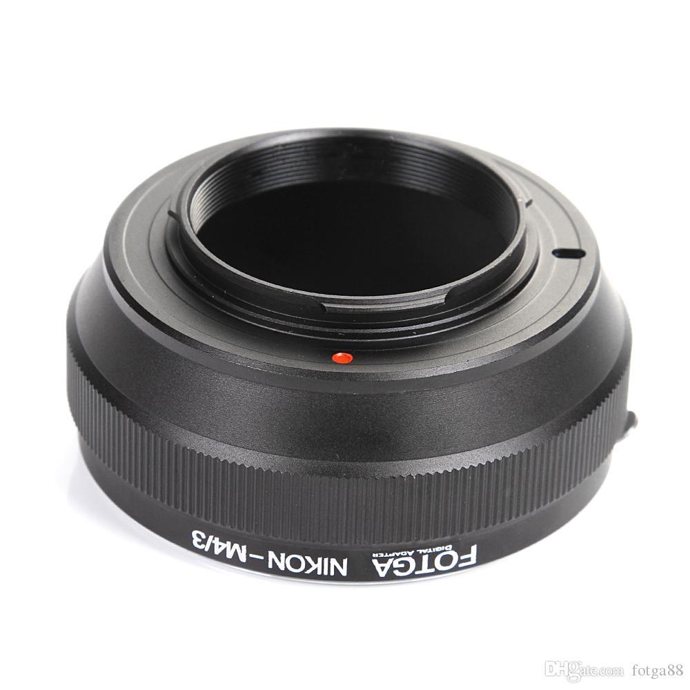 Adaptador FOTGA para lentes Nikon AI a Micro 4/3 M4 / 3 EP1 EP-2 GF1 GF2 G1 G3 GH1 GH2