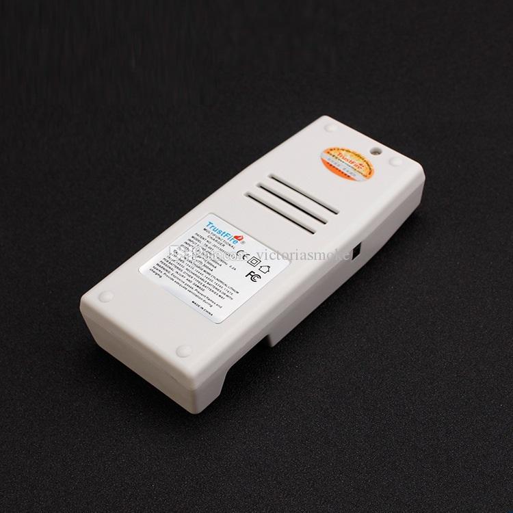 Carga recargable multifuncional del cargador de fuego Trust para 18650 10430 14500 16340 17670 18500 batería li-ion proteger el enchufe EU EU