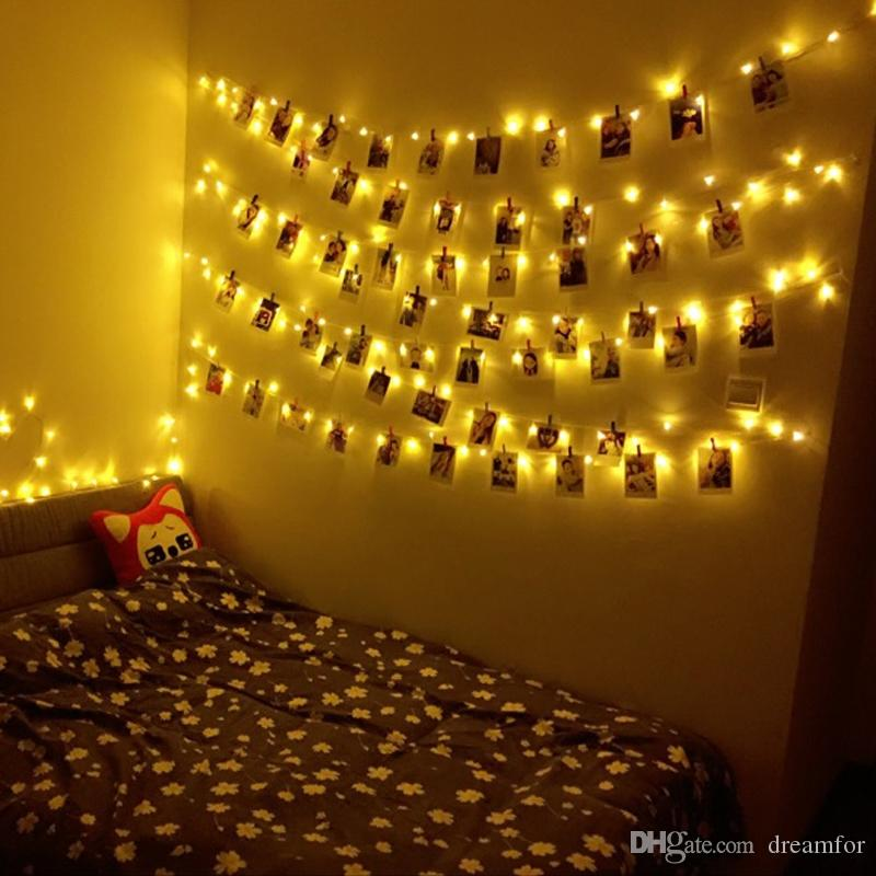 2018 The Bedroom Room Decoration Lights Flashing Light ...