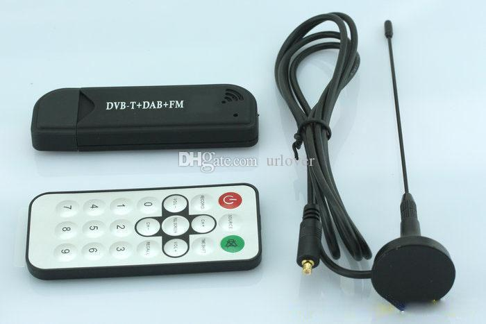 USB2.0 DVB-T SDR + DAB + FM ТВ-флешка RTL2832U + R820T