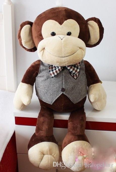 2019 One Large Size 75cm 30 New Huge Big Monkey Stuffed Animal Plush