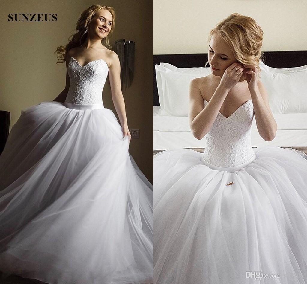 Vestido de noiva dia vestido de bola dropped waist wedding dresses ver imagem maior junglespirit Image collections