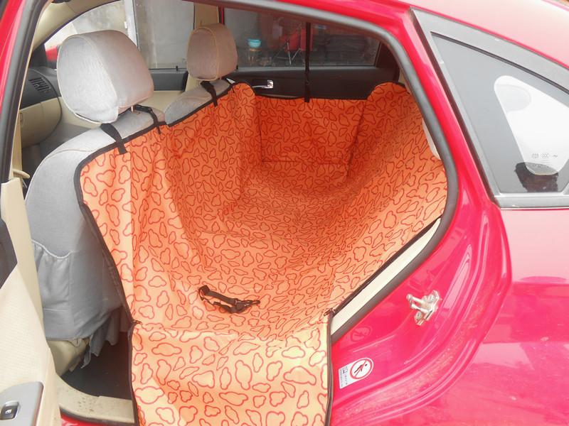 Medium image of pet dog cat waterproof car seat cover mat blanket cradle bed rear back pets hammock cushion protector coffee purple green orange cushion pet seat online