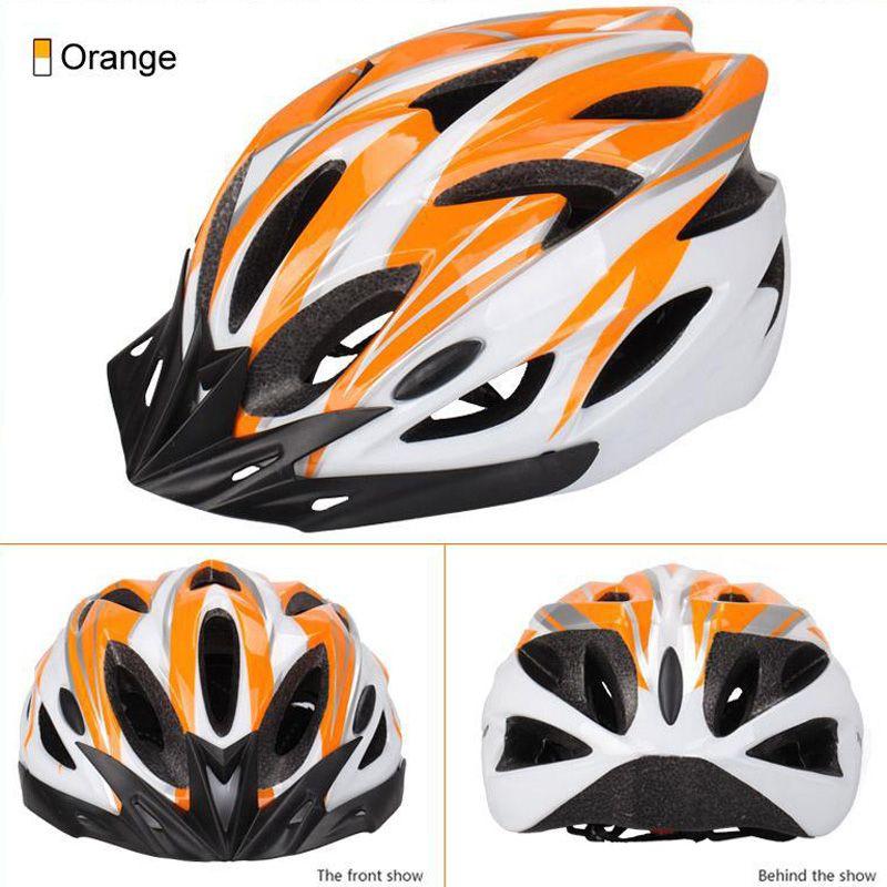 New unisex EPS ultra-light bike helmet riding helmet one-piece craft helmet protective gear cycling helmets for sale