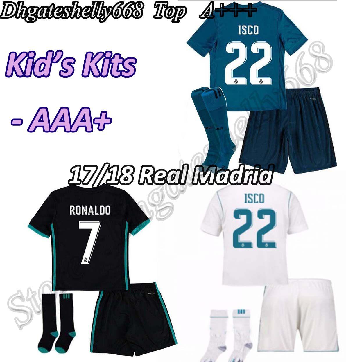 2017 2018 real madrid 7 ronaldo away soccer club jersey 653691b7d