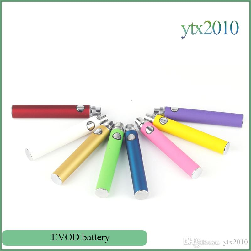 Evod Battery Electronic Cigarettes For MT3 Ce4 Ce5 Vaporizer E cig Kit 900mah E cigarette Battery For Starter kit DHL