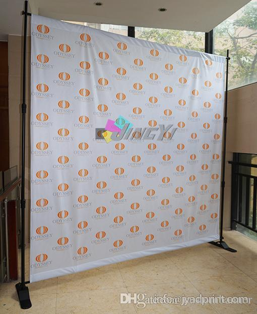 Telescopic backdrop stands/Banner stands/Adjustable background display stand/banner with