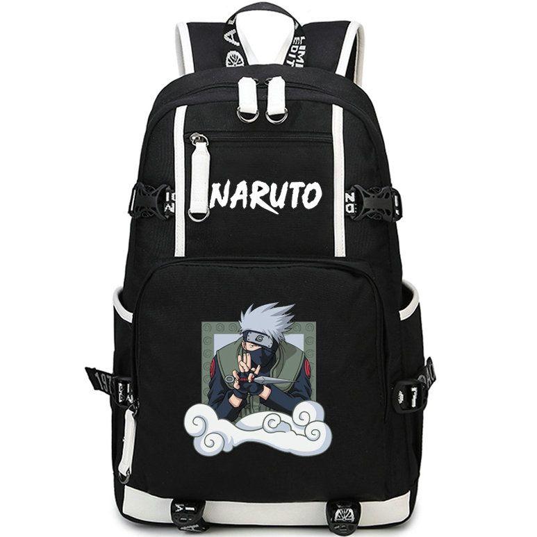 Hatake Kakashi backpack Naruto fight school bag Ninja cartoon daypack Anime  schoolbag Outdoor rucksack Sport day pack