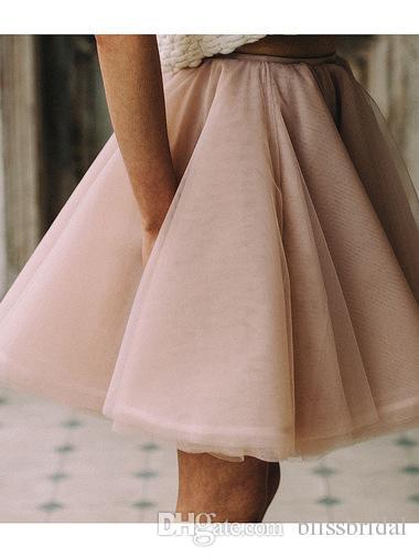 라이트 핑크 섹시한 짧은 미니 스커트 투투 얇은 명주 그물 라인 파티 드레스 주니어 여성 댄스 파티 드레스 2016 맞춤 제작