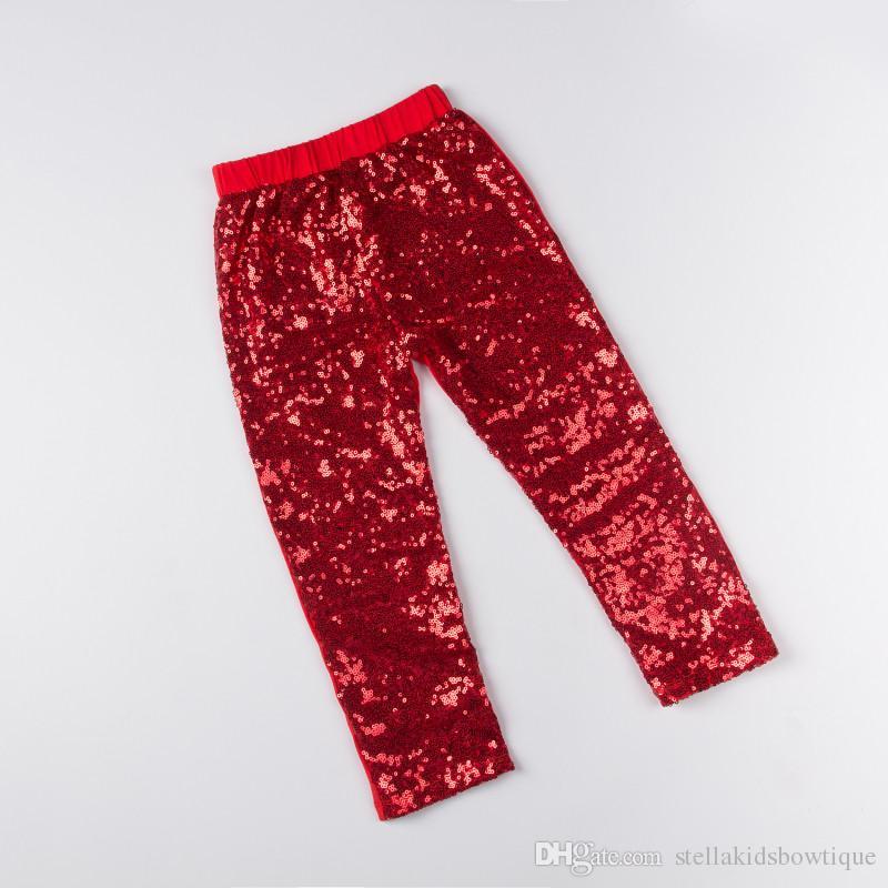 Christmas Red Baby Leggings ,Sequins Leggings,Toddler Girls Pants ...
