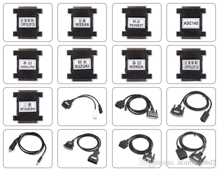 2018 T300 Anahtar Programcı t300 anahtar programcı Son İngilizce Ve İspanyolca V14.02 Profesyonel Oto Anahtar t300 Maker Rodan DHL Ücretsiz Kargo