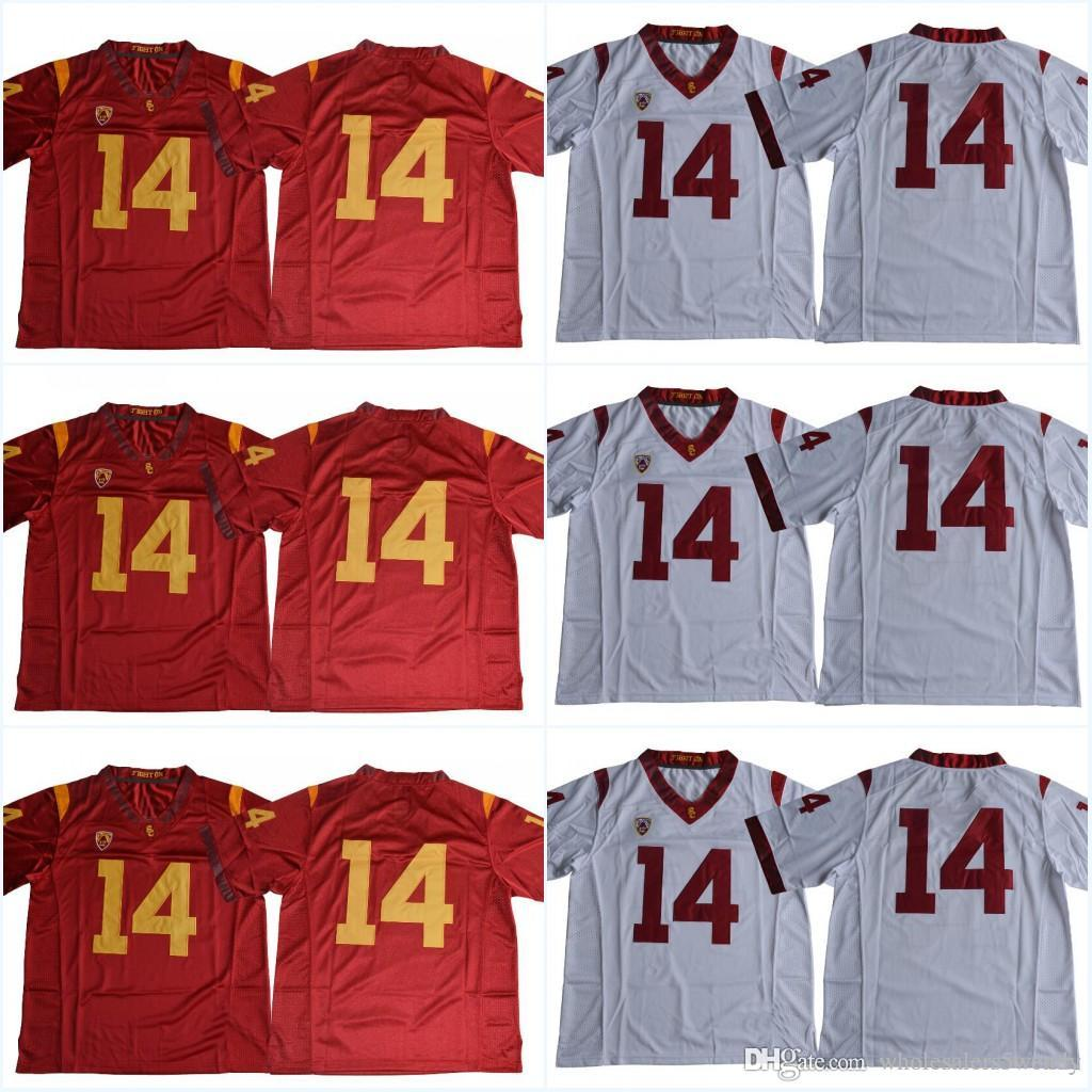 sam darnold jersey large in white