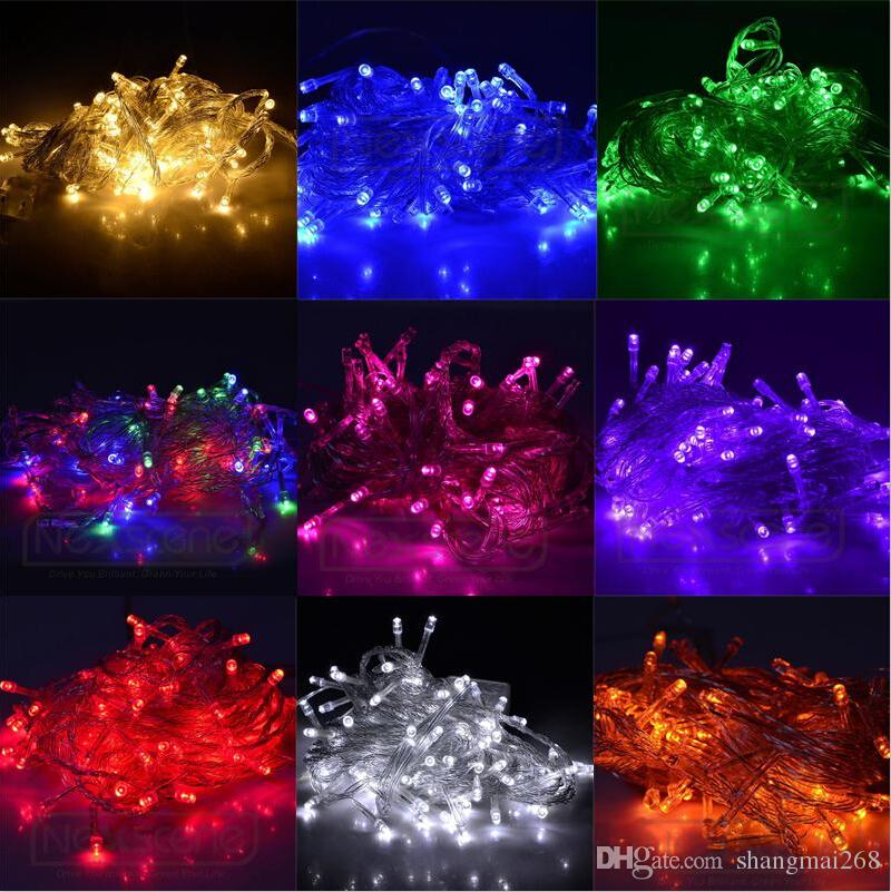 Outdoor Led Fairy Lights Big surprise 10m outdoor led string lights 110v 220v christmas fairy big surprise 10m outdoor led string lights 110v 220v christmas fairy holiday lighting home party wedding decorations waterproof buy string lights easter workwithnaturefo