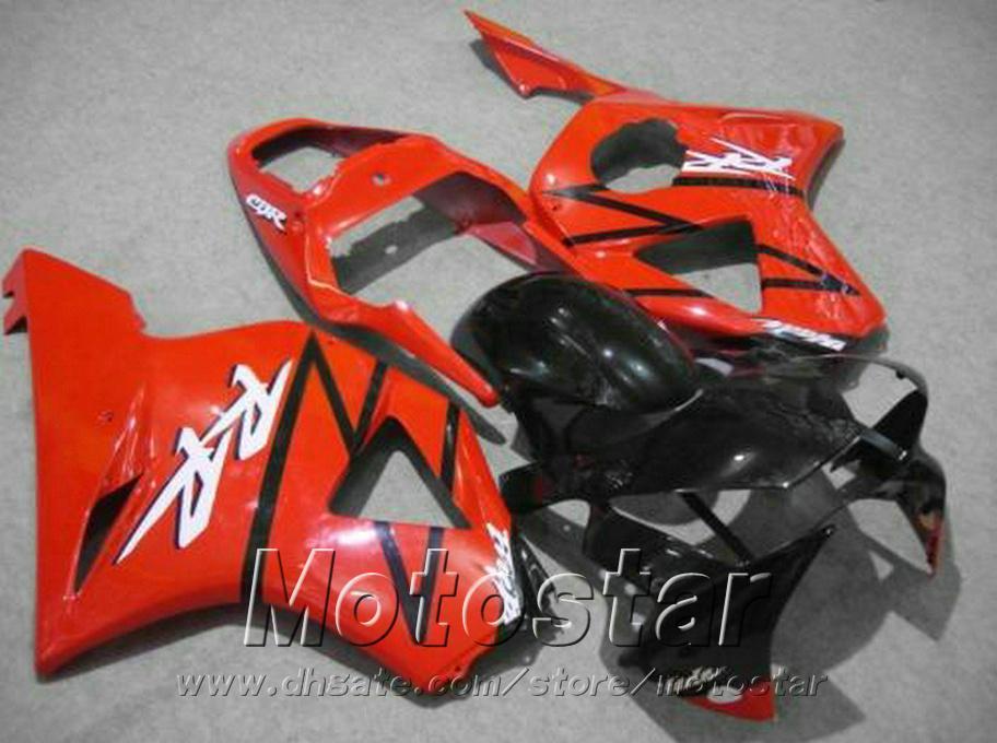 Free customize fairing kit for Honda Injection molding cbr900rr fairings 954 2002 2003 CBR 900 RR red black motobike CBR954 02 03 YR39
