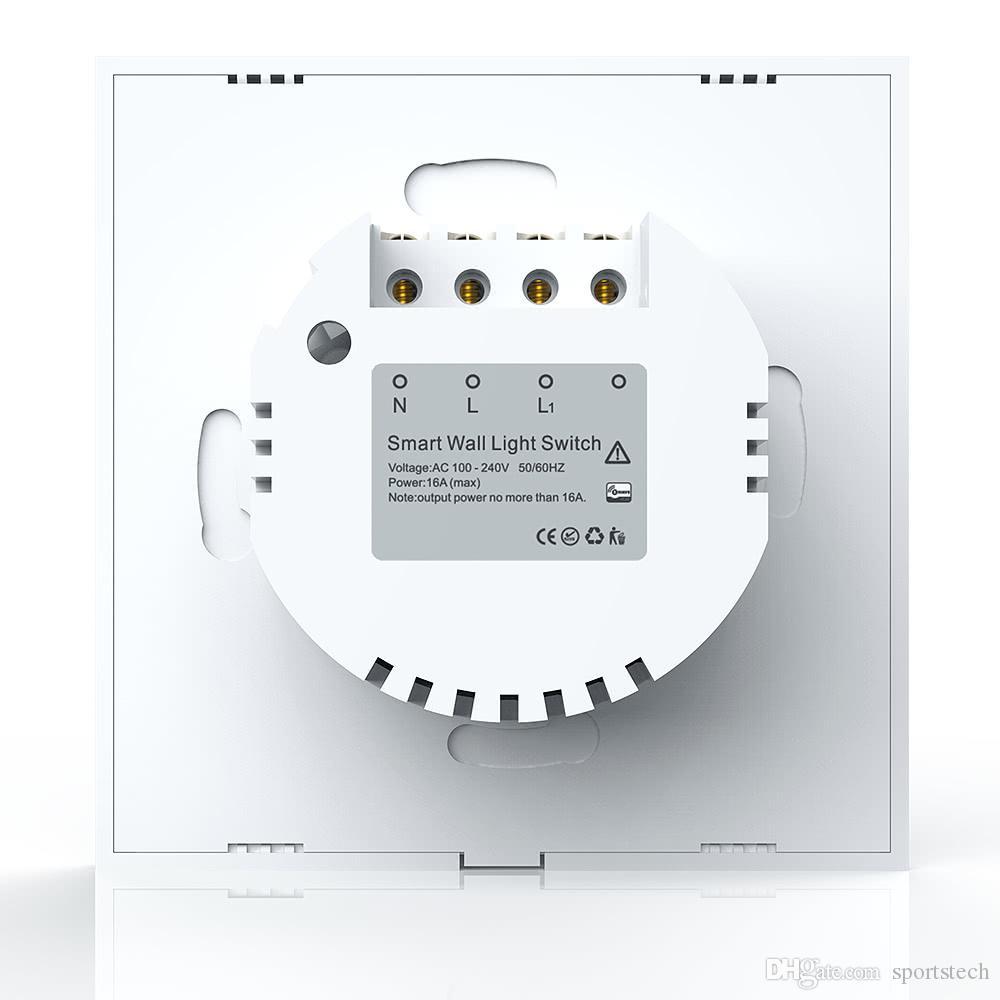 Neo Coolcam Z Wave Wall Light Switch 1ch Gang Z Wave Wireless Smart ...