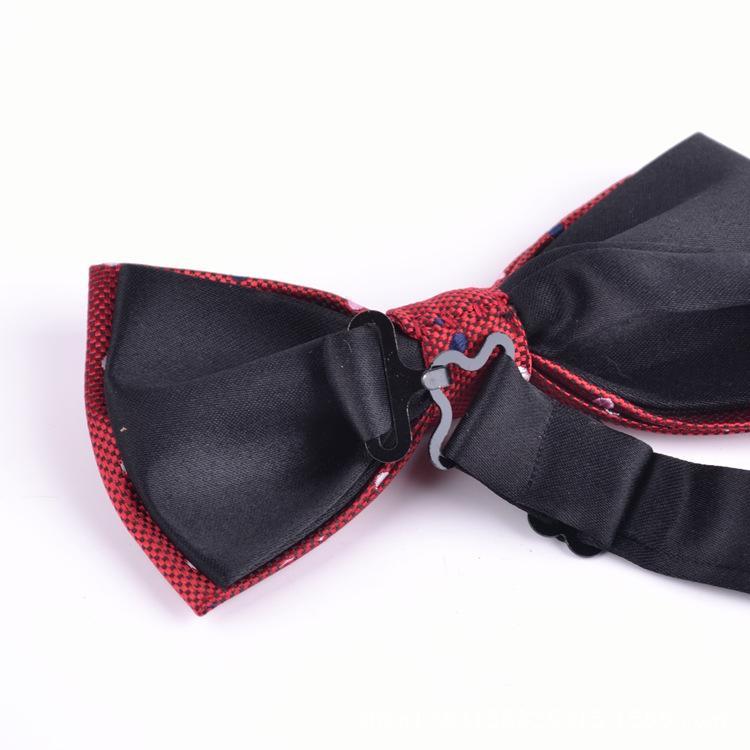 Unisex шеи бантики бабочка галстук регулируемые луки галстуки высококачественные регулировки металла пряжки мульти-стиль