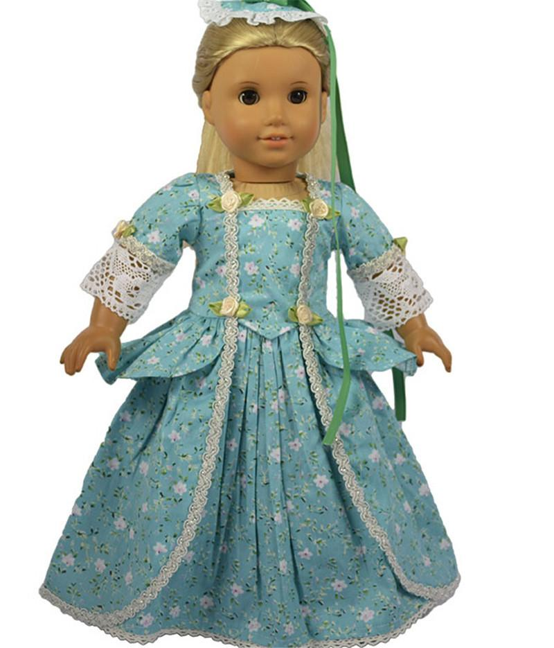 2015 Mini Party Princess Dress Doll Clothes For 18 Inch American