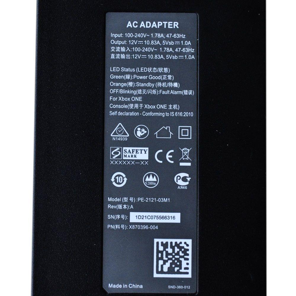 Nowy Kabel Ładowarka Zasilacza Zasilacza Zasilacze Do Microsoft Xbox One Console