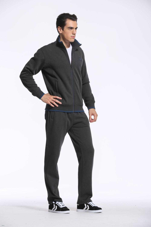 2018 Jogging Suits For Men Tracksuit Men Sweatshirts Thickness Fleece Long Sleeve Winter ...