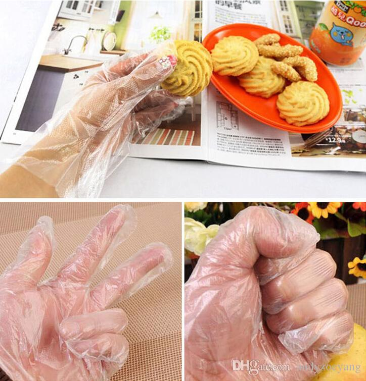 Restaurant Kitchen Gloves 2017 new disposable plastic glove sanitary restaurant home bbq