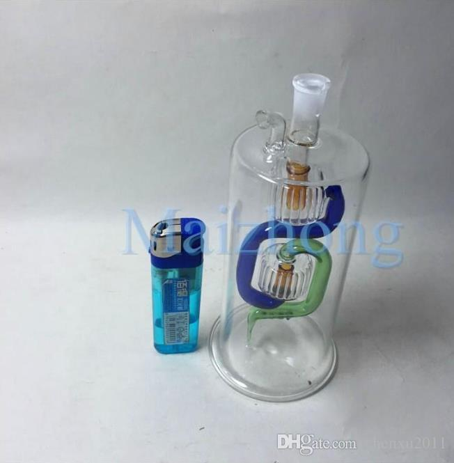 Direct fabricants spécialisés dans la production et la vente en gros de verre transparent Snuff Bottle narguilé fumer narguilé narguilé