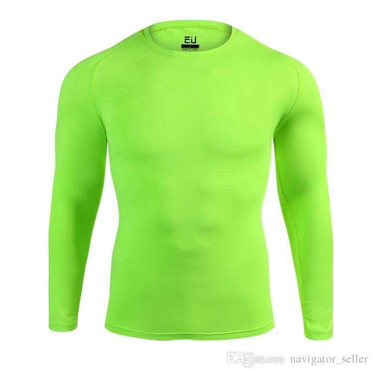 PRO Erwachsene Kleidung Jersey Herren Pullover Trikots Langarm Sportlich Laufen Trainning Strumpfhosen Kleidung Schneller Versand
