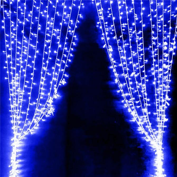 Cheap 2016 3x3meter Led Curtain Lights Copper Wire String Fairy Sparkle  Lights Party Xmas Y String Lighting Led String Lights Outdoor From  Nikki_sunshine, ...