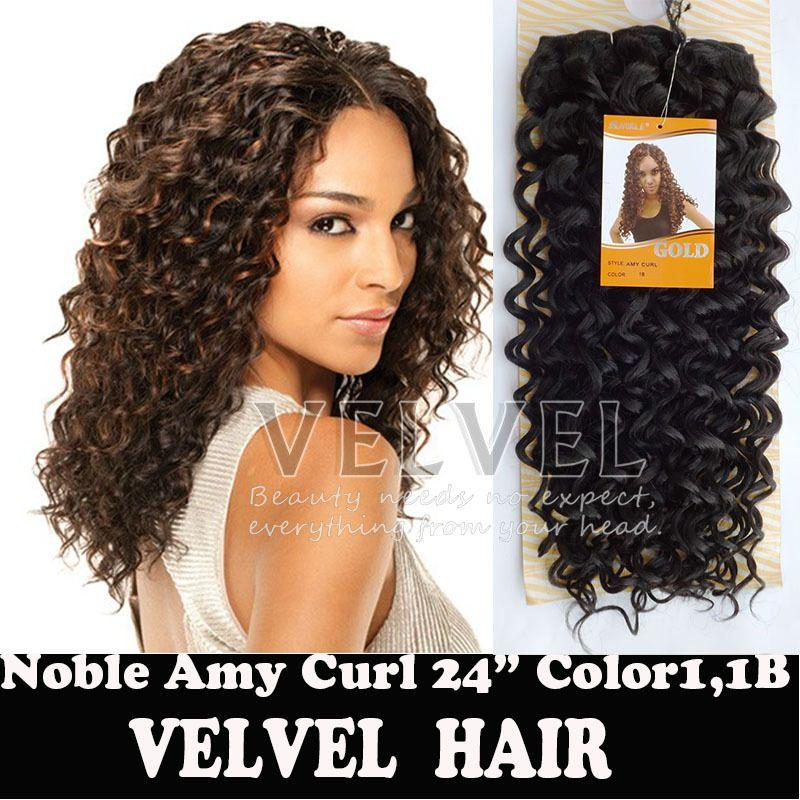 Drop Shipping Noble Amy Curl 11b1b30 Synthetic Hair Extensions