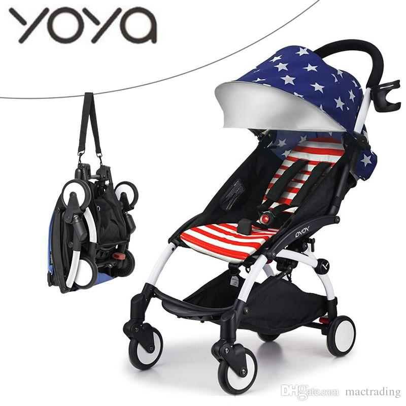 Original YOYA Lightweight Umbrella Baby Stroller Pram Pushchair Kinderwagen Bebek Arabasi Portable Folding Baby Car Carriage Travel Stroller