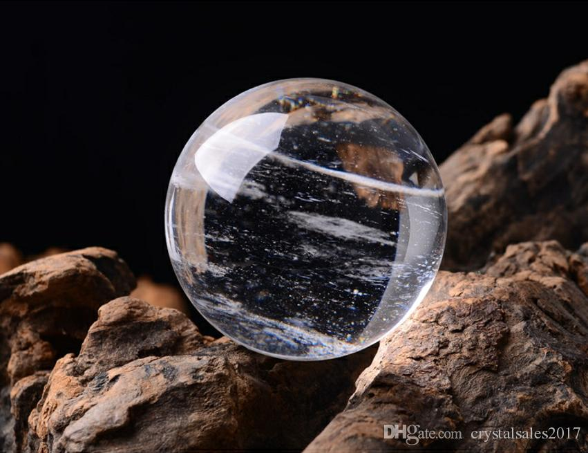 50--60 mm clear Crystal ball Smelting stone crystal sphere crystal healing crafts home docoration art & gift