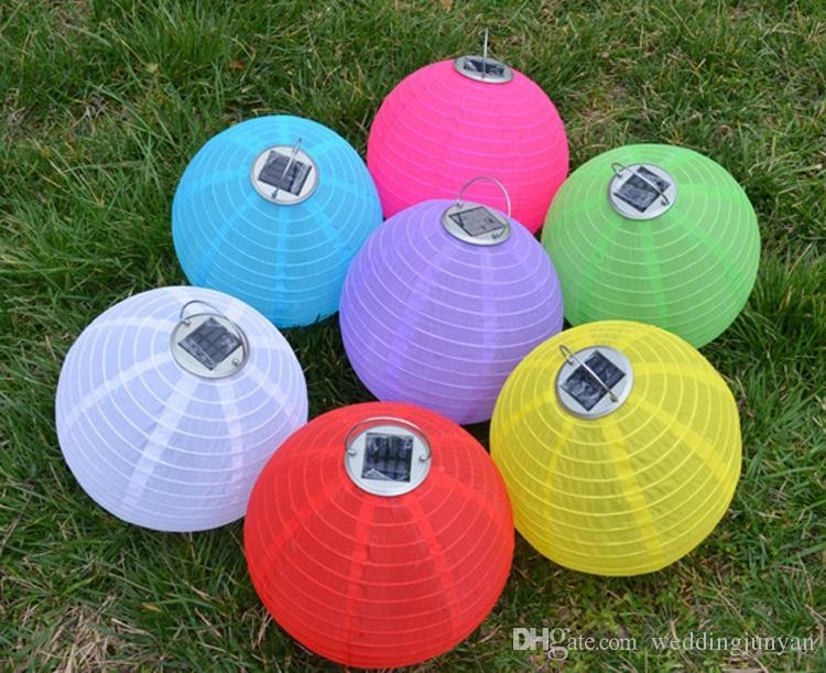 Acheter Lanternes Chinoises Style LED Lampes Solaires Papier ...