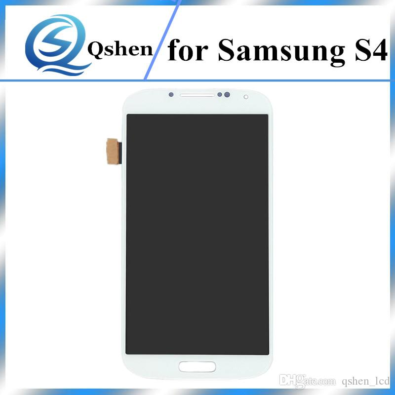 Original Quality No Dead Pixel For Samsung Galaxy S4 i9500 i9505 LCD Touch Digitizer Display Assembly Screen Replacement