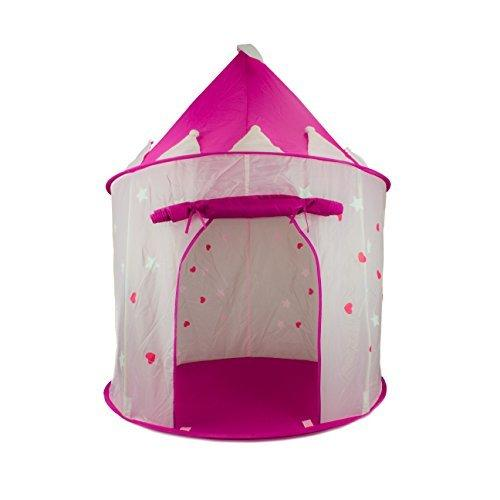 2018 Fox Print Princess Castle Play Tent With Glowin The Dark StarsConveniently Fold In To A Carrying Case 135cm High Safety For Kid Indoor From Aliamoon ...  sc 1 st  DHgate.com & 2018 Fox Print Princess Castle Play Tent With Glowin The Dark ...