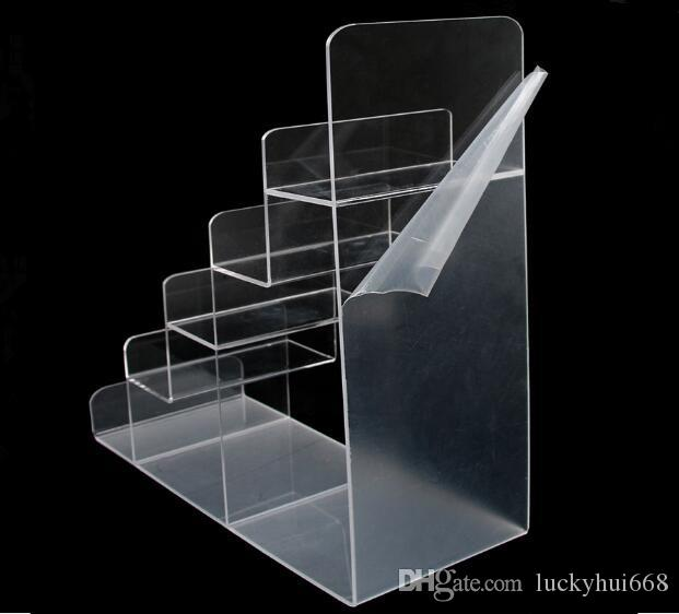 Hot sale High quality wallet purse display stand acrylic Mobile Phone Display Holder Makeup Cosmetic Glasses Lipstick Nail Polish Rack