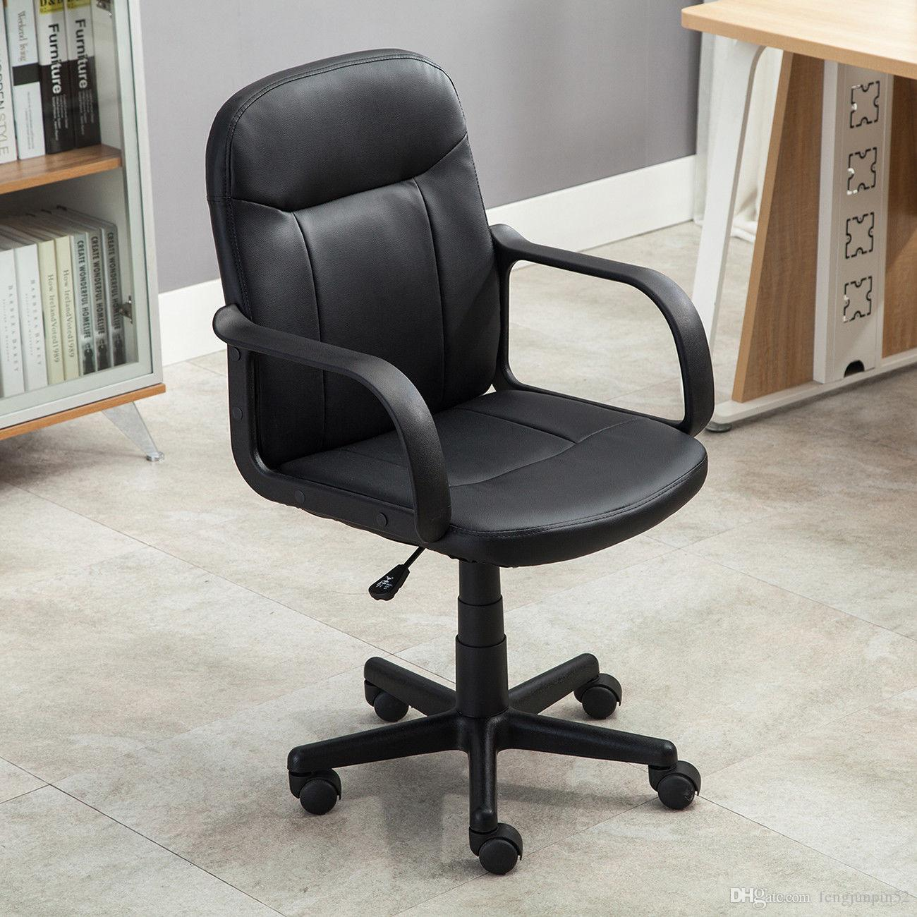 modern office chair. 2018 New Modern Office Executive Chair Pu Leather Computer Black From Fengjunpin52, $46.24 | Dhgate.Com E