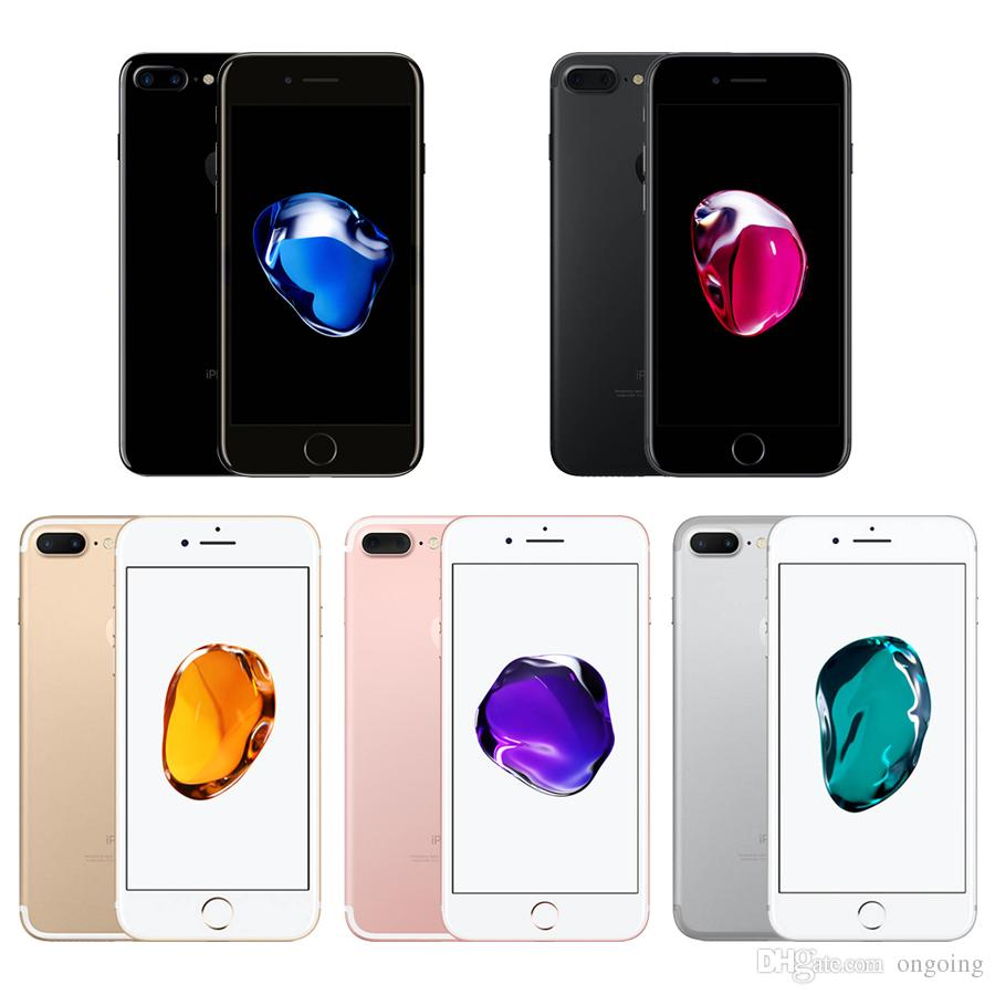 Apple Iphone 7 Plus Factory Unlocked Original Mobile Phone 4g Lte 256gb Jet Black Silver Gold Rose Red 100 55 Dual Core A10 12mp Ram 3gb Rom 32gb 128gb 256g Cell I7 Refurbished