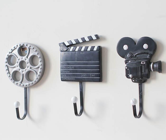 Creative Coat Hooks online cheap creative coat hook wall hanger film equipment design