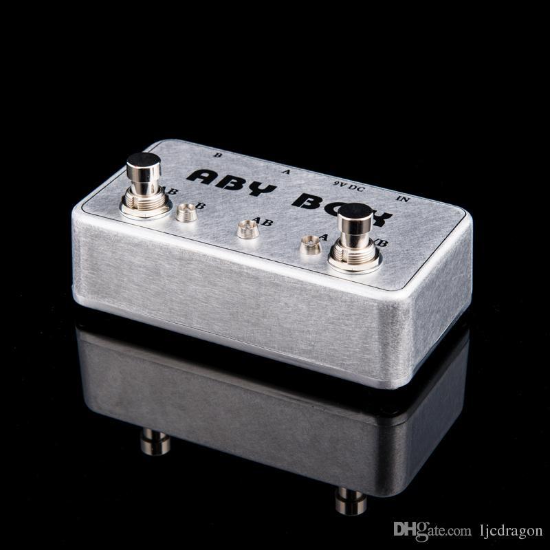 NEW ABY Selector Combinador Switch AB Box Pedal novo pedal! NOVA CONDIÇÃO!