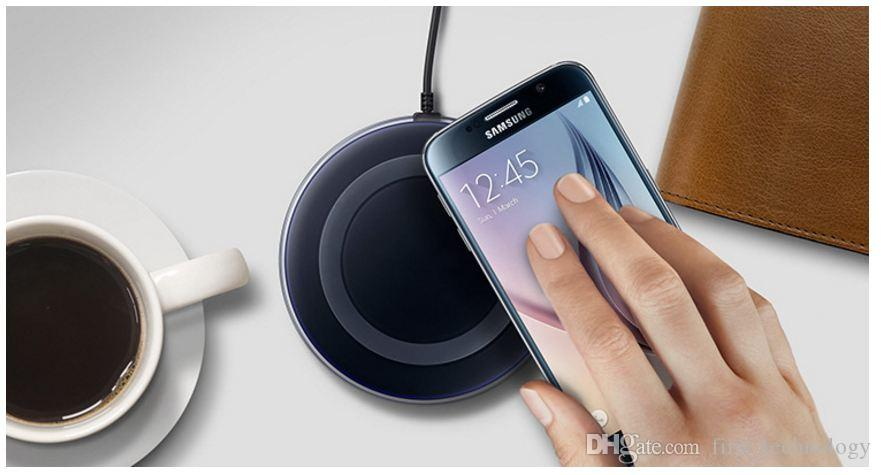 Hot 2018 High Quality Universal Qi Wireless Charger For Samsung Note8 Galaxy s7 Edge s8 plus note8 iphone 8 X mobile pad