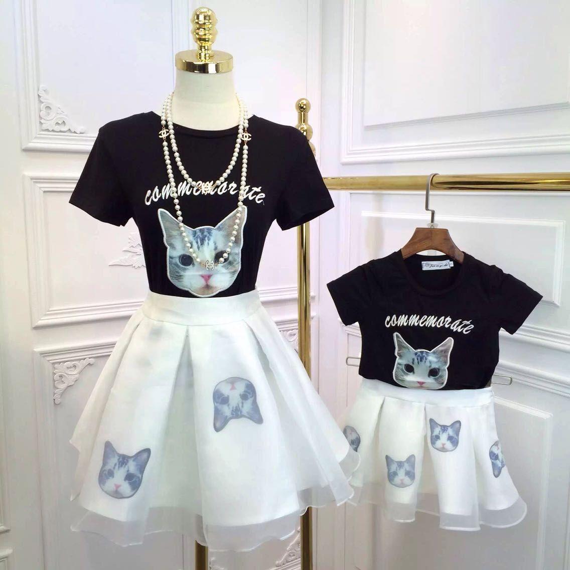 Wholesale Children Girls Tutu Dress Cartoon Mini Bust Skirt Baby