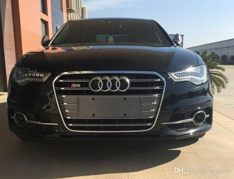 2019 Front Grille Mesh Oem Quality Abs For Audi A6 S6 C7 2013 2014