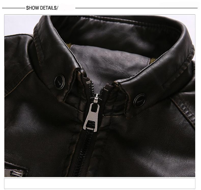 Sıcak satış ücretsiz kargo pu deri ceket mavi adam Avrupa ABD Kış erkekler artı kadife ceket sıcak deri ceket için adam