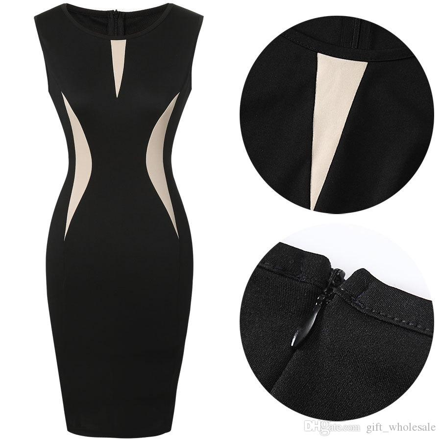 Womens Cool Beautiful Ladies Formal Party Pencil Dress Business Dress