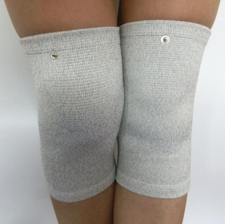 Elektroden-Massage-Knie für TENS-Einheit EMS EMS ELEKTRONISCHE PULSE MASSNAGE-DOCK Therapie wiederverwendbare Knie von DHL