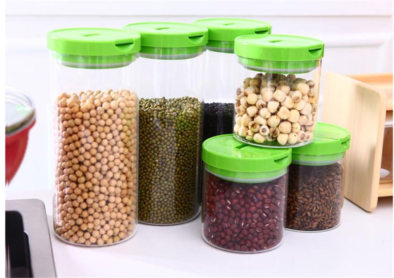 Wonderful 2018 Practical Glass Storage Jars Airtight Food Storage Containers For  Coffee Tea Moisture Proof Function High Quality Hot Sale 015 From  Framingcloud, ...
