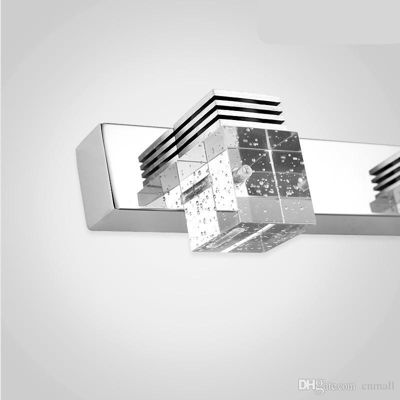 LED-Spiegel-Licht-moderne Luxus leistungsfähige helle LED-Kristallbadezimmer-Wand-Lampe Helle Spiegel-vordere Leuchte Wand-Leuchter-Waschraum-Wand-Lampe